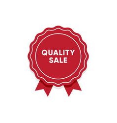 quality sale label market tag design vector image
