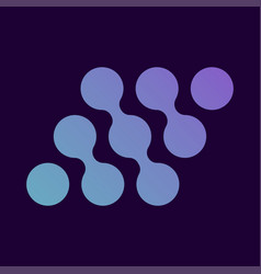 simple abstract logo design template creative vector image