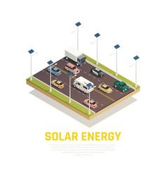 solar energy concept vector image