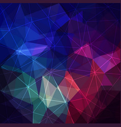 Triangular abstract background vector