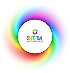 Spectral background vector image vector image