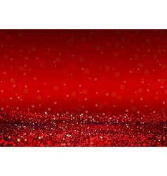 Defocused Abstract Red Lights Background vector image