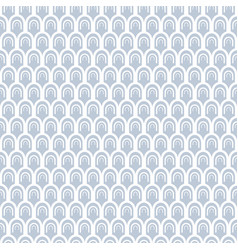 Arches pattern vector