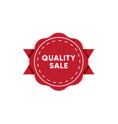 best quality product market tag design vector image