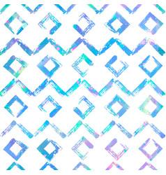 geometric hand drawn seamless pattern zig vector image