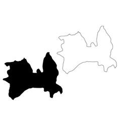Greater skopje municipality republic north vector
