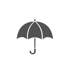 isolated umbrella icon on a white background vector image
