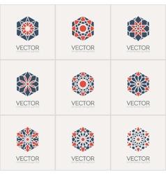 Ornamental symbols vector