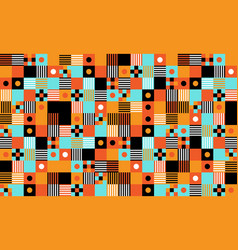 seamless pattern modern background design modern vector image