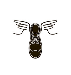 Sport shoes icon vector