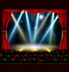 Start amazing entertainment event vector