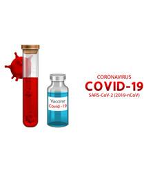 Vaccination immunization for coronavirus antidote vector