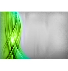 background green wave grey vertical vector image vector image