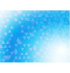 Blue background blurred vector image vector image