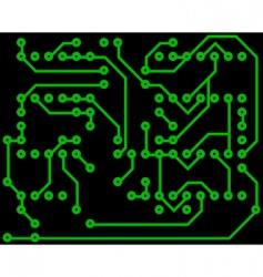 electrical scheme vector image vector image