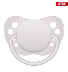 baby pacifier vector image