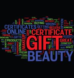 Beauty gratitude and open heart text vector