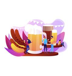 beer fest concept vector image