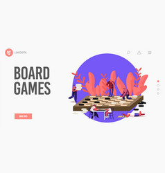 Boardgame recreation leisure or family hobby vector
