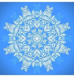 Color circular pattern Round kaleidoscope of vector