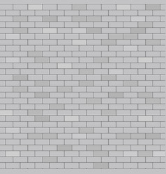 gray brick wall abstract background vector image