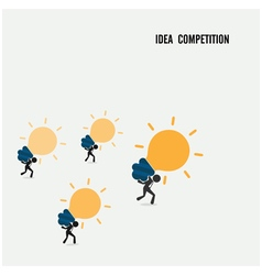 Idea competition idea concept vector