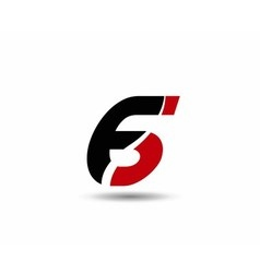 Number six 6 logo icon vector image
