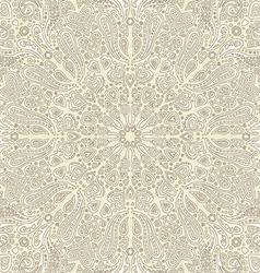 Paisley cream background vector