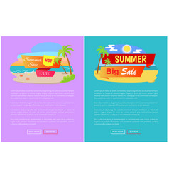summer big sale best discount 35 off online pages vector image
