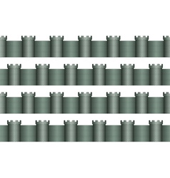 Tower pattern vector image