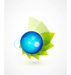 nature sphere design vector image