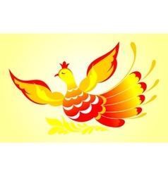 Firebird vector image