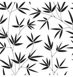 Bamboo texture vector image vector image
