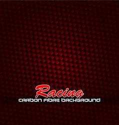 racing fibre background vector image