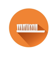 Toothbrush symbol vector image vector image