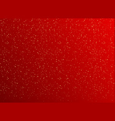 Christmas background with golden dots vector