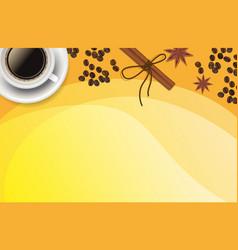 christmas orange positive background vector image