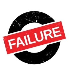 Failure stamp rubber grunge vector image