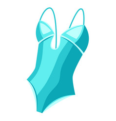 female swimsuit vector image