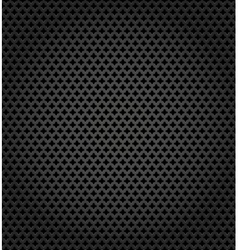 Metallic surface gray dark background vector image