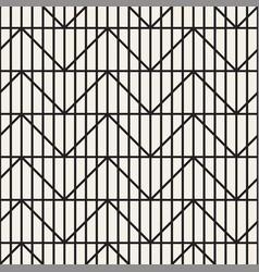 Seamless lattice pattern geometric striped zigzag vector