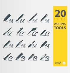 Writing Tools vector