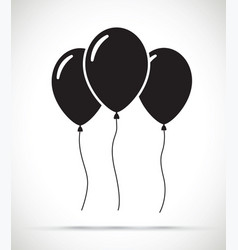 set of balloons vector image vector image