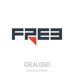 Free - idea for logo Free - original logotype Free vector image