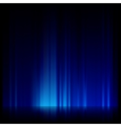 Blue light and stripes moving fast EPS 10 vector image