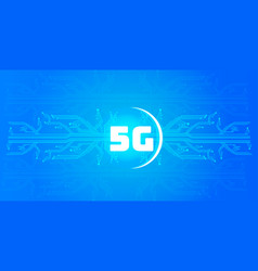 5g online communication network wireless systems vector image