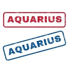Aquarius Rubber Stamps vector