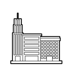 City building business property architecture vector