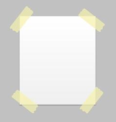 Notice paper vector