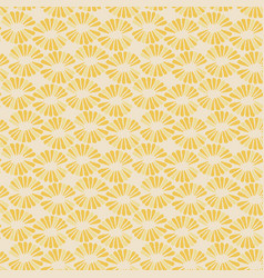 seamless delicate pattern with retro vector image